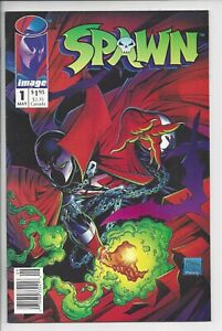 Spawn 1 - NM (9.0) NewsStand copy with UPC - High-Grade