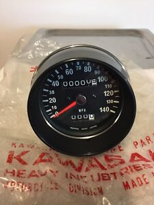 Genuine Rare New Kawasaki Speedo Assembly Part 25005-122 H1F,KH500 & H2C