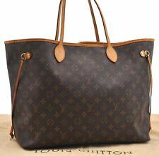 Authentic Louis Vuitton Monogram Neverfull GM Tote Bag M40157 LV A5728
