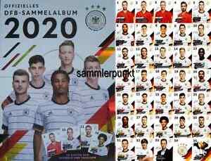 NORMALKARTEN bzw. SAMMELALBUM Ihrer Wahl / REWE DFB-Stars Sammelkarten EM2020