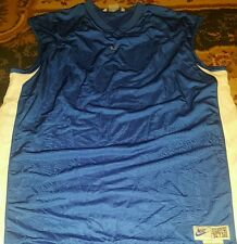 NIKE Sleeveless Jersey Men XL Blue shirt.24.7.365 Length +2 In The Game Since 72
