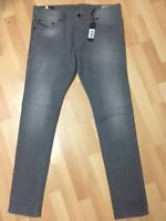 Mens Diesel TEPPHAR Stretch Denim 0853T GREY CARROT Slim W34 L32 H6 RRP£150