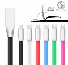 Micro USB Charger Data Cable 3.3ft Strong 3D Alloy Rapid Charging Phone