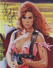 Linda Blair Signed 8x10 Art Photo - SAVAGE STREETS - SEXY!!! H448