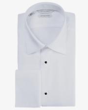SUITSUPPLY 16 / 41 Pique Bib Egyptian Cotton Tuxedo Shirt Slim Fit NEW NWT $99
