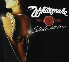 WHITESNAKE SLIDE IT IN CD & DVD - 25th ANNIVERSARY SPECIAL EDITION