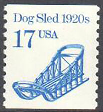 SC#2135 - 17c Dogsled 1920s Coil Single MNH