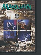 Marillion - From Stoke Row to Ipanema 2DVD 3hrs3min Bonus director's cuts 2003EU