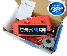 NRG Seat Belt Harness 5 Point Cam Lock Red SBH-R6PCRD