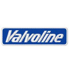"Racing Fan aufnäher "" Valvoline Oil "" 10 x 3 cm"