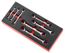 Facom Knarren-Ringschlüssel-Satz 7 Piezas 12 Lados, 6-19mm en Módulo MODM.64J7