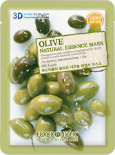 2 X 3D Food A Holic Super food  Olive Natural Essence Mask  anti agein moisturis