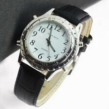 Luxury New Digital Electronic Wristwatch Watch English Talking Quartz Watch DA