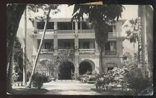 Real Photo Postcard Port Au Prince Haiti Hotel San Souci 1940's