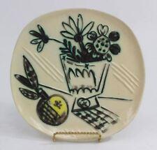 Pablo Picasso Ceramic, Madoura, Bouquet à la pomme plate AR 307