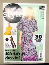 "Burda Fashion Style NR.7 Juli/2020 "" inkl. Schnittmuster"" ungelesen TOP"