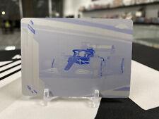 2020 Topps Chrome Formula 1 Carlos Sainz 1/1 #28 Printing Plate Mclaren