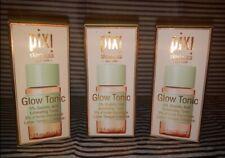 Pixi Skintreats Glow Tonic 5% Glycolic Acid Exfoliating Toner 3.9 oz 3 bottles