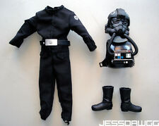 "1/6 Tie Fighter Pilot outfit 12"" figure Star Wars by Hasbro for marmit sideshow"