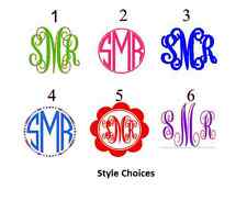 "4"" DIY Iron On Monogram U Pick Color & Style Regular Neon or Glitter SHIPS FREE!"