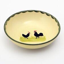 Zeller Keramik, Müslischale, 2 Stück, 18 cm, Hahn und Henne