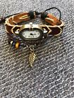 Steampunk Watch leather bracelet style fashion jewelry mothers day gift fun #16