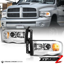 02-05 Dodge RAM Pickup 1500 2500 3500 LED Bar Neon DRL Tube Projector Headlight