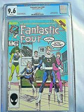Marvel FANTASTIC FOUR #285 CGC 9.6 NM+ White Pages John Byrne 1985