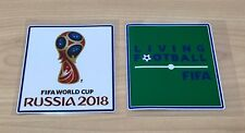 World cup Russia 2018 Patch Living Football badge soccer jersey shirt Brazil