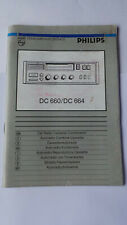 PHILIPS DC 660 DC 664 RADIO CASSETTE INSTRUCTION HANDBOOK MANUAL AUSTIN ROVER MG