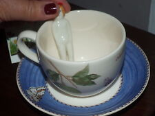 Wedgwood Large Cup & Saucer & Frozen Charlotte of Sarah's Garden