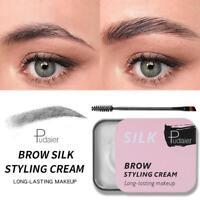 3D Feathery Eyebrow Cream Brows Makeup Gel Waterproof Soap Brows Long Last Nice