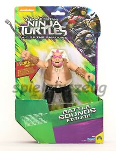 Teenage Mutant Ninja Turtles - Battle Sounds Figur Bebop mit Geräusche NEU