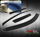 Tape On 4Pc Door Side Shade Window Vent Visors For 00 01 02 03 Nissan Maxima 4Dr
