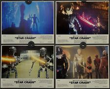 Star Crash 1979 Orig USA 8X10 NM Vestíbulo Tarjeta Juego Caroline Munro Marjoe