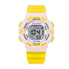 Waterproof Date Children Boys Girls Watch Digital LED Sports Alarm Watch Gift