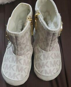 Michael Kors baby girl boots.