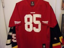 San Francisco 49ers   85 Davis Football Jersey Size Youth L 14 16 By NFL 73e7ed8e0