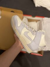 Nike Dunk High W / Sail Football Grey-Pale Ivory UK 4 / US 6.5 WITH RECEIPT