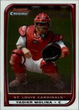 2008 Bowman Chrome Baseball #162 Yadier Molina St. Louis Cardinals