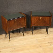 Couple Nightstands Furniture Coffee Tables Vintage Design Modern Decor Years 70