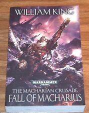 WARHAMMER 40,000 Fall Of Macharius*FINE L/N*WILLIAM KING The Macharian Crusade#3