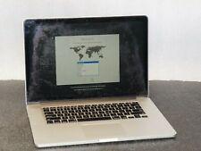 """READ! Apple MacBook Pro Retina A1398 15"""" (2014) i7 2.5GHz/16GB/500GB SSD/ DG"""