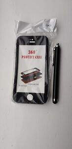 iPhone 360 Degree Protector Case For iPhone G5 Free Styles Pen