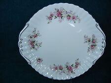 "Royal Albert Lavender Rose Handled 10 3/4"" Cake / Cookie Plate"