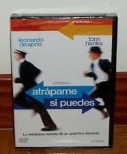 ATRAPAME SI CAN-CATCH ME lF YOU CAN-DVD-NUEVO-PRECINTADO-COMEDIA-TOM HANKS