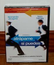 ATRAPAME SI PUEDES-CATCH ME lF YOU CAN-DVD-NUEVO-PRECINTADO-COMEDIA-TOM HANKS