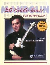 30 Fiddle Tunes For Mandolin Taught By Butch Baldassari Sheet Music NE 000641392