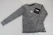 Rsb Rock Star Baby Long Sleeve T-Shirt Melange Grey for Baby 3-6 Months 01-05/B6