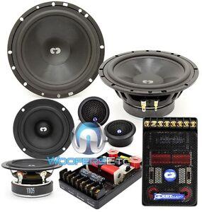 "CDT AUDIO CL-632 3-WAY 6.5"" & 3"" CLASSIC CAR AUDIO COMPONENT TWEETERS SPEAKERS"